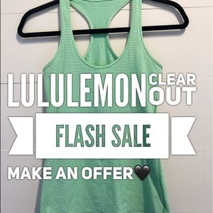 Lululemon FLASH SALE